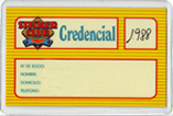 Credencial Sticker Club