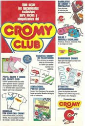 Productos Cromy Club